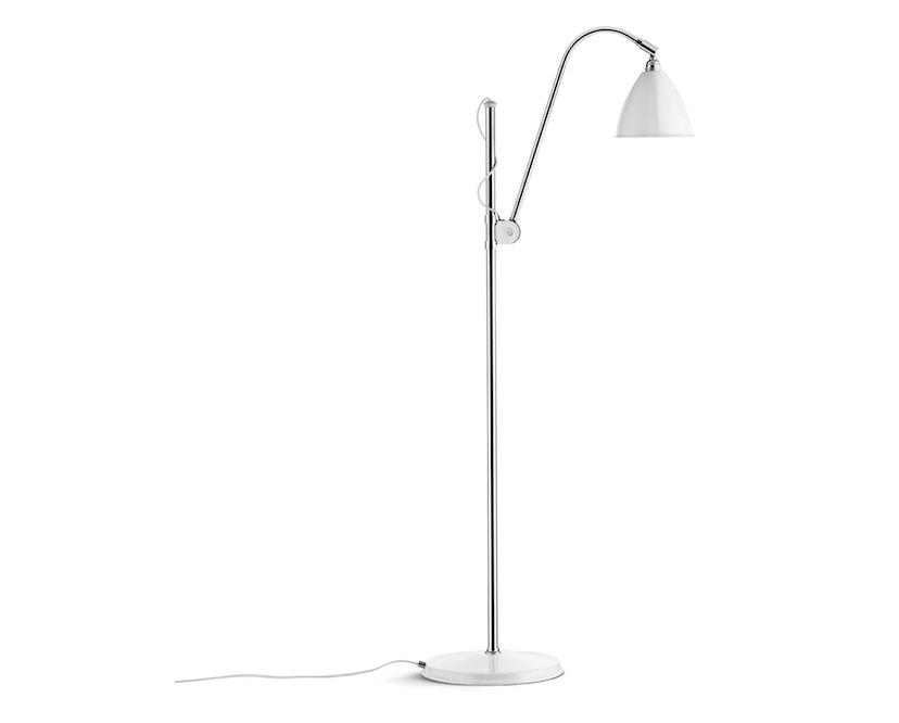 Gubi - BL3 S vloerlamp - mat wit/ chroom - 1