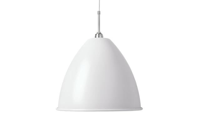 Gubi - BL9 L Hängeleuchte - matt weiß/chrom - 1
