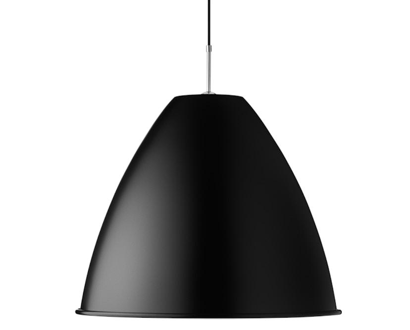 Gubi - BL9 L Hängeleuchte - schwarz/chrom - 1
