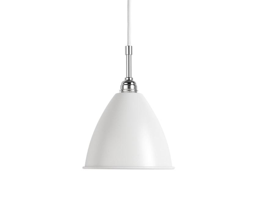 Gubi - BL9 S Hängeleuchte - weiß/chrom - 1