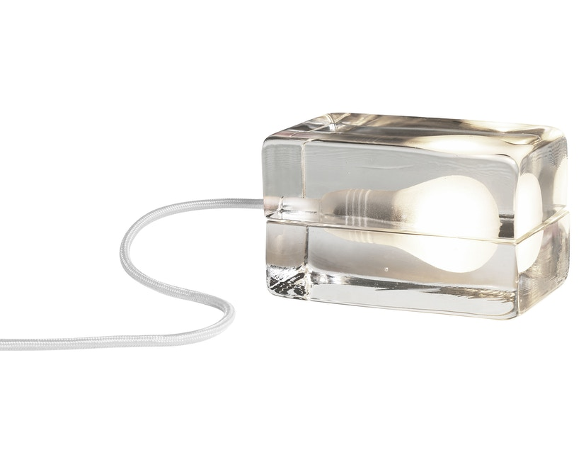 Design House Stockholm - Block Lamp - weißes Kabel - 1
