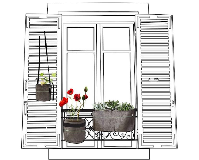 Bacsac - Pflanztasche  10L - balkon - classic  - 6