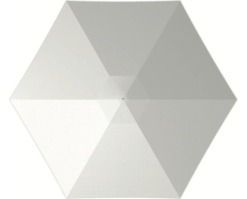 Tuuci - Bay master aluminium Klassik Sonnenschirm   - natural - 2,6 m sechseckig - 9