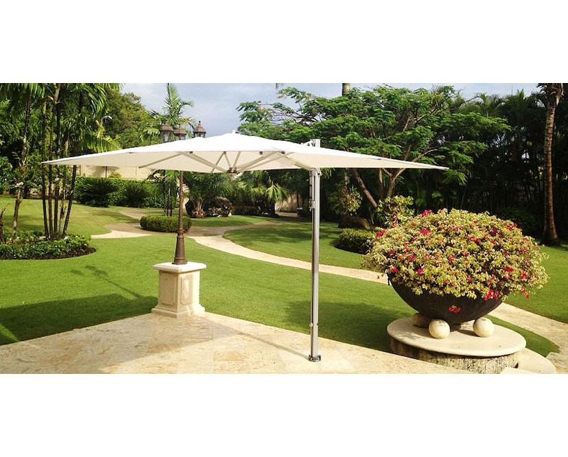Tuuci - Bay master aluminium single cantilever parasol - natuurwit - 5