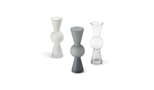 Design House Stockholm - Bon Bon Vase - grau - 4