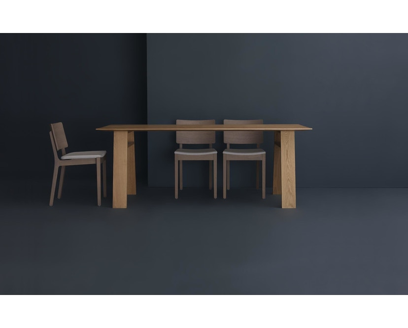 Zeitraum - Bondt Tisch - Esche massiv - 140 x 90 cm - 6