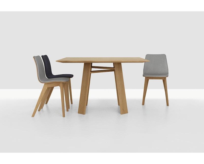 Zeitraum - Bondt Tisch - quadratisch - Eiche massiv - 100 x 100 cm - 3