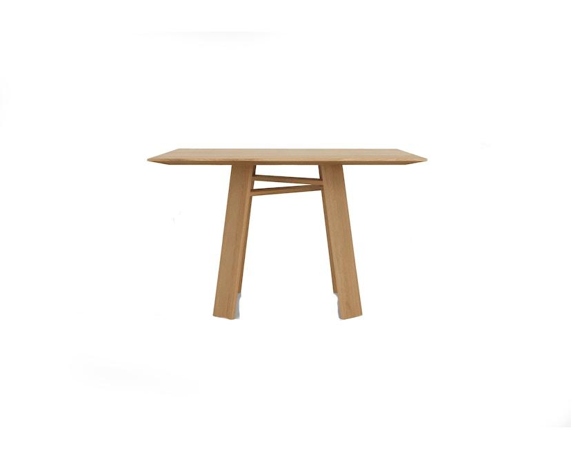 Zeitraum - Bondt Tisch - quadratisch - Eiche massiv - 100 x 100 cm - 1