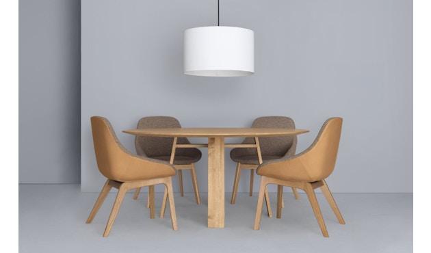 Zeitraum - Bondt Tisch - rund - Eiche massiv - 120 cm - 2