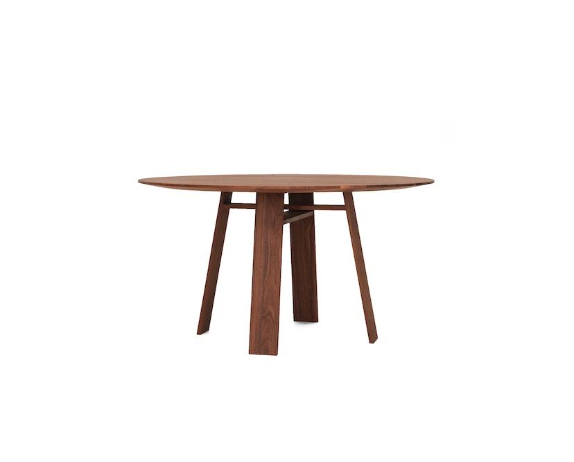 Zeitraum - Bondt Tisch - rund - Eiche massiv - 120 cm - 1