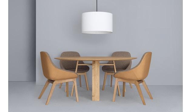 Zeitraum - Bondt Tisch - rund - Esche massiv - 120 cm - 2