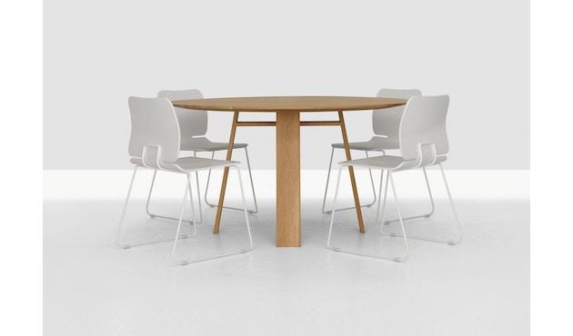 Zeitraum - Bondt Tisch - rund - 4