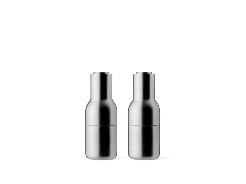 Menu - Bottle Grinder Metal molen-set - roestvrij staal geborsteld - 3