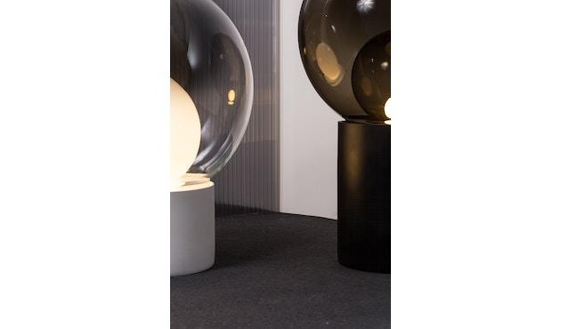 Pulpo - Boule Bodenleuchte Medium  - Transparent Opal White Inside - 2