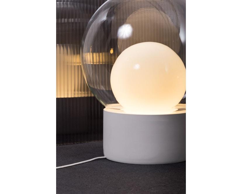 Pulpo - Pulpo Boule Tischleuchte Small - transparent/opalweiß/schwarz - 3