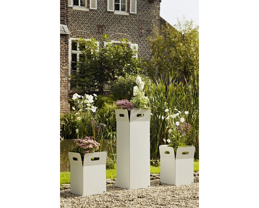 Flora - Box 40 Pflanzengefäß outdoor- Cortenstahl - 2