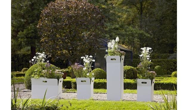 Flora - Box 40 Pflanzengefäß outdoor- Cortenstahl - 3
