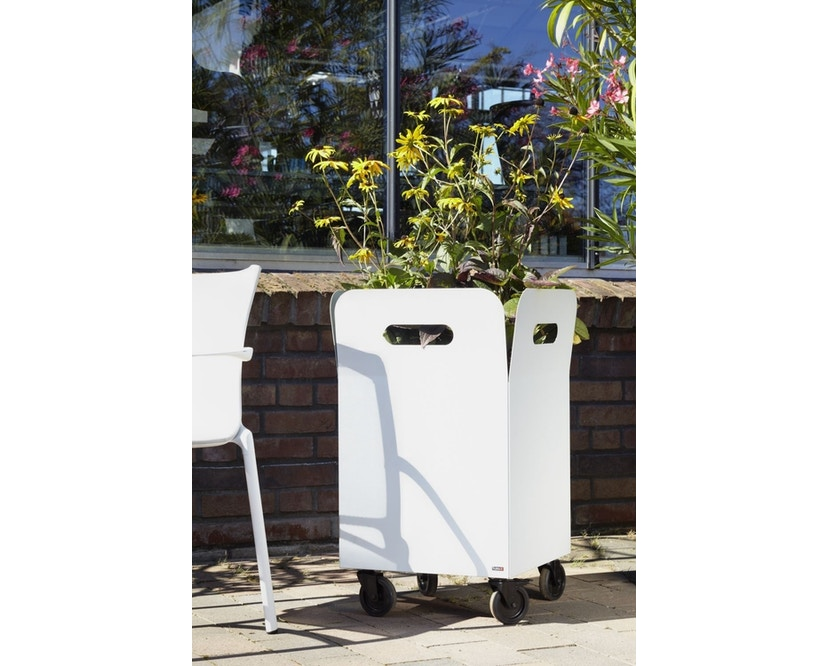Flora - Box 40 Pflanzengefäß outdoor- Cortenstahl - 6