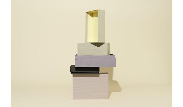 HAY - Box Box/ Desktop Set - Stripe grey - 2