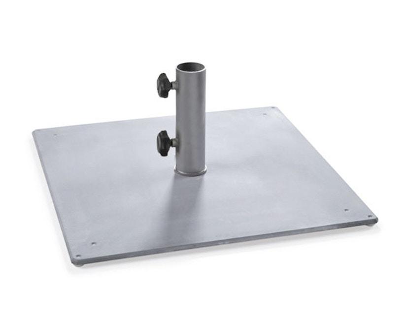 Weishäupl - Schirmständer - Stahlplatte 35 kg - 54 mm - beschichtet - 1