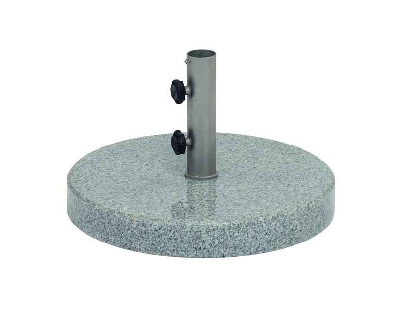 Weishäupl - Schirmständer Granit - rund - 35 kg - Ø40 mm - poliert - 1