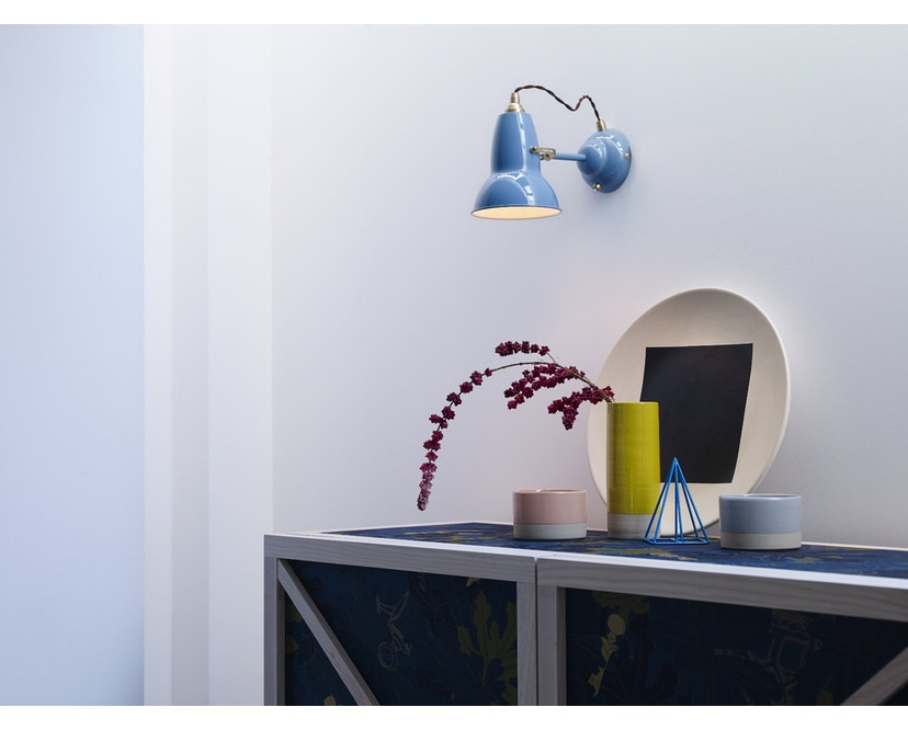 Anglepoise - Original 1227™ Brass wandlamp - olifantengrijs - 4