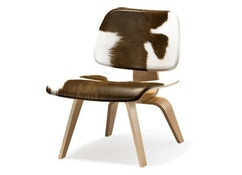 Vitra - Chaise Plywood Group LCM Calf's Skin - 1