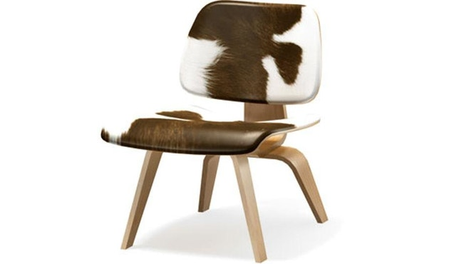 Vitra - Plywood Group LCW Calf's Skin - Es natuur - 2