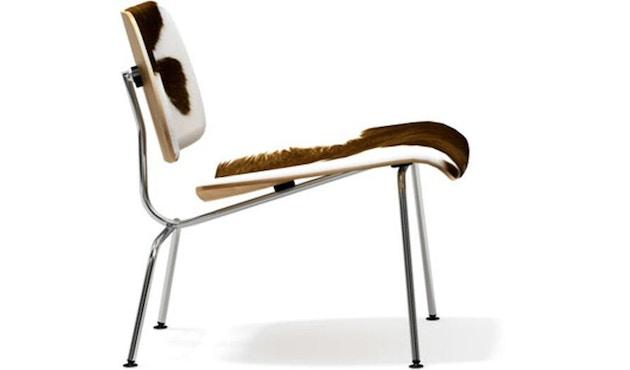 Vitra - Plywood Group LCM Stuhl Calfs Skin - braun/ weiß - 1