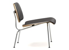 Vitra - Chaise Plywood Group LCM cuir - 1