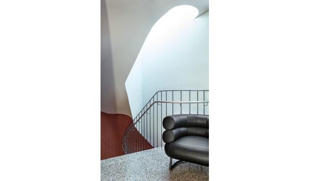 Classicon - Bibendum Sessel - Stoff Manila schwarz - Gestell schwarz - 6