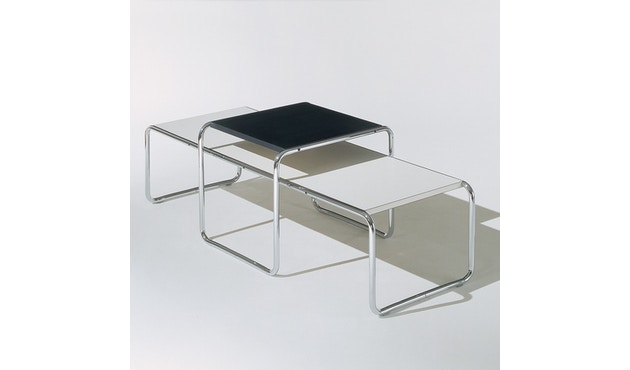 Knoll International - Breuer Laccio Tisch - klein - Laminat schwarz  - 3