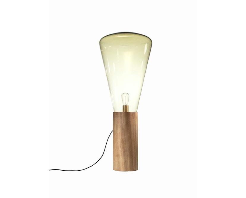 Brokis - Muffin Wood Stehleuchte - Eiche natur - Glas klar - 2