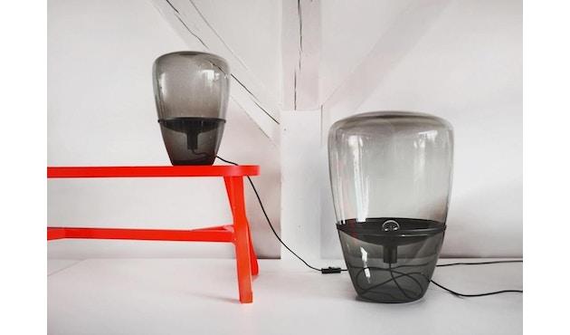 Brokis - Balloon Tischleuchte - S - weiß lackiert - Klarglas - 7