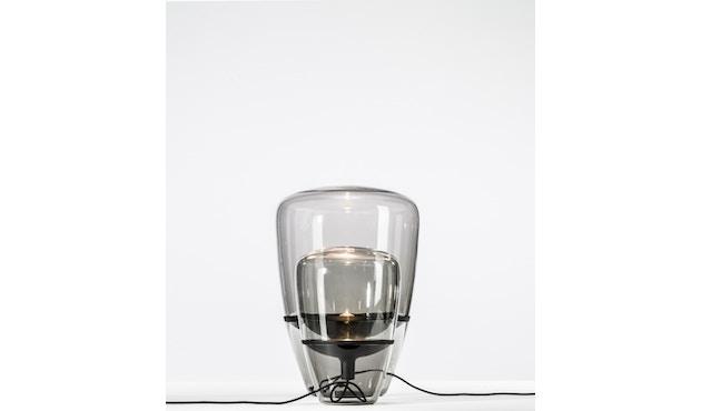 Brokis - Balloon Tischleuchte - S - schwarz lackiert - Grauglas - 2