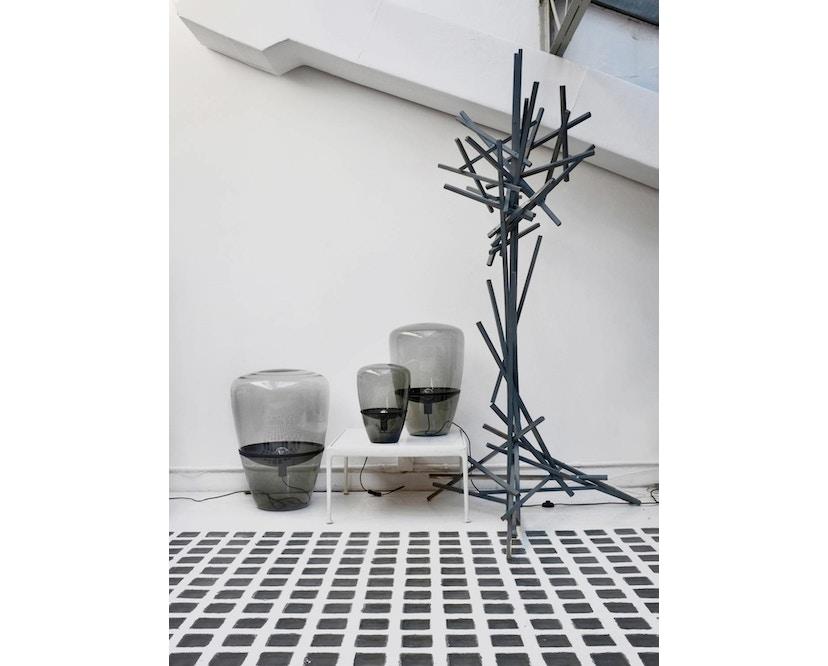 Brokis - Balloon Tischleuchte - S - schwarz lackiert - Grauglas - 8