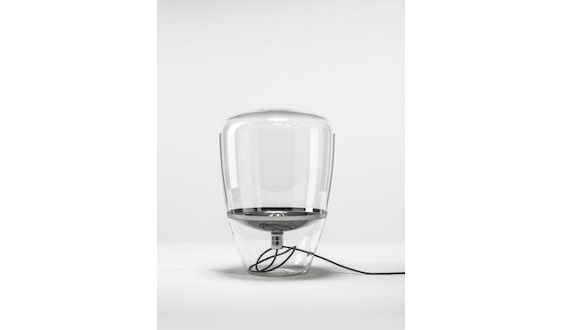 Brokis - Balloon Tischleuchte - S - schwarz lackiert - Klarglas - 1