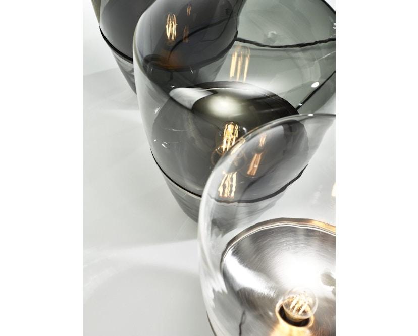 Brokis - Balloon Tischleuchte - S - schwarz lackiert - Grauglas - 5