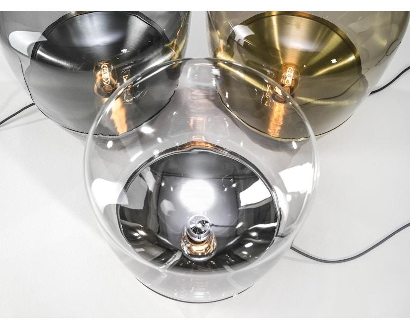 Brokis - Balloon Tischleuchte - S - weiß lackiert - Klarglas - 6