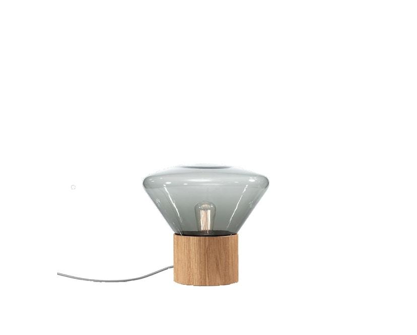 Brokis - Muffin Tischleuchte - Eiche natur - Glas klar - S - 4