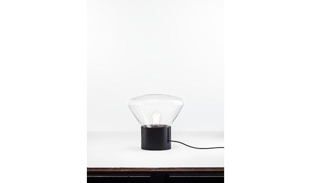 Brokis - Muffin Tischleuchte - Eiche natur - Glas klar - S - 2
