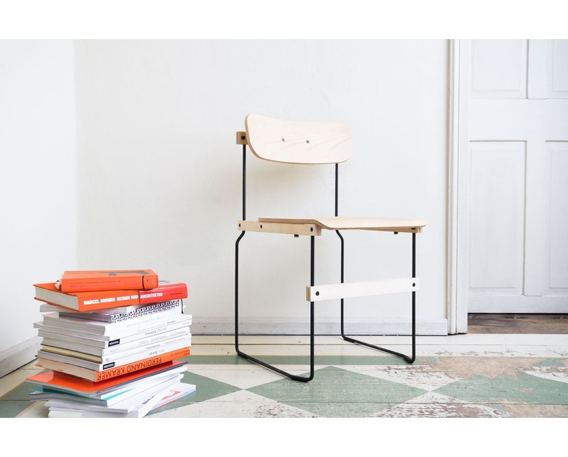 Moormann - Bruto Stuhl ohne Armlehne - 9