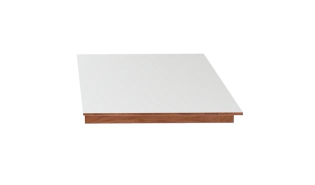 bruunmunch - Playdinner lamé Esstisch Vergrößerungsplatte mit Seitenleiste - Platte Laminat, Eiche geseift - 1