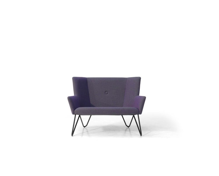 bruunmunch - Tosom XL Sessel - Hallingdal 130 - grau meliert - 1