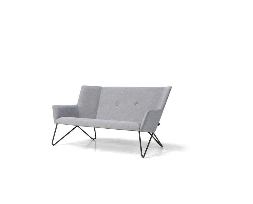bruunmunch - Tresom 2-Sitzer  Sofa - Hallingdal 130 - grau meliert - 2