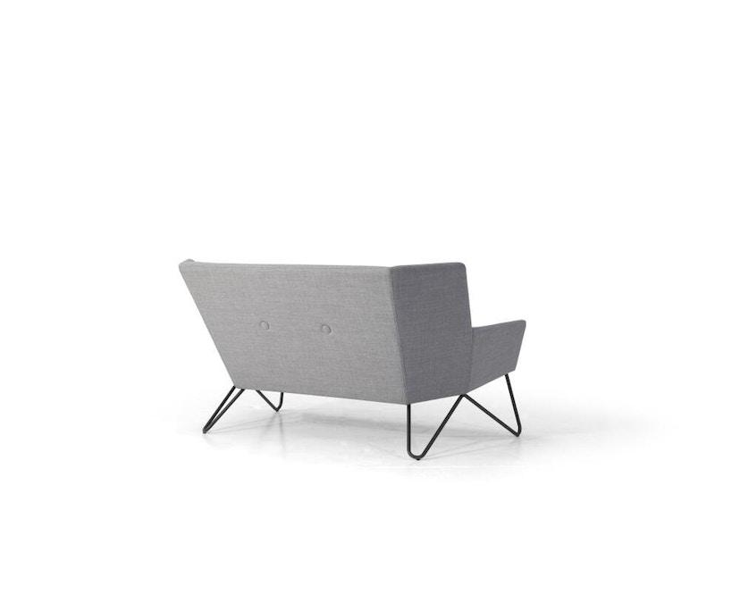 bruunmunch - Tresom 2-Sitzer  Sofa - Hallingdal 130 - grau meliert - 3
