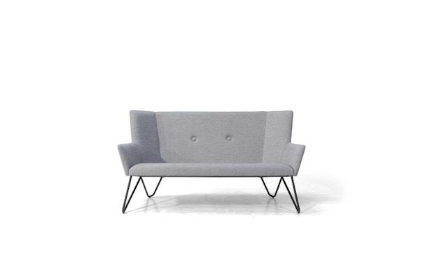 bruunmunch - Tresom 2-Sitzer  Sofa - Hallingdal 130 - grau meliert - 1