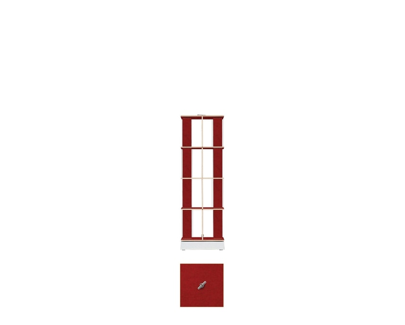Moormann - Buchstabler - Bücherturm S - rot - 3