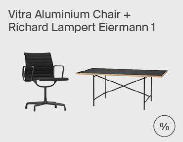 Eiermann 1 & Vitra Aluminium Chair