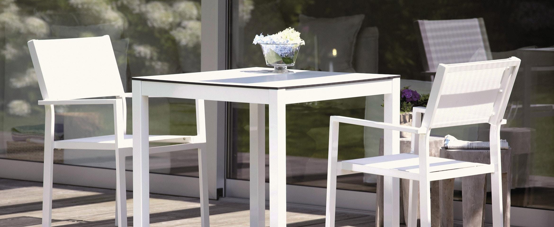 Jan Kurtz Quadrat tafel en Cubic armleunstoel